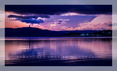 Scrabo from Barrs Bay (RonnieLMills) Tags: road tower club reflections bay yacht hill mount stewart newtownards scrabo portaferry barrs hss purpleronnie slidersunday