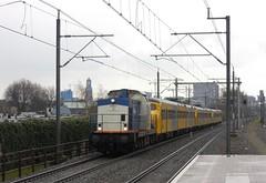 Utrecht Zuilen, Plan V's naar Houtrakpolder (Ahrend01) Tags: utrecht domtoren plan 64 v zuilen volkerrail materieel
