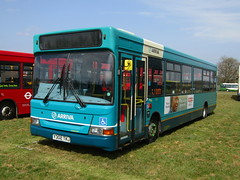 Y302 TKJ (markkirk85) Tags: new bus buses festival kent pointer south surrey east dennis dart arriva thameside 2016 slf 3302 plaxton tkj 32001 y302 y302tkj