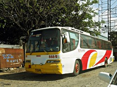 St. Christopher Transport Service Coop. 888-B (Monkey D. Luffy 2) Tags: road city bus public photography photo coach nikon philippines transport royal vehicles transportation coolpix daewoo vehicle society davao coaches philippine enthusiasts philbes cruistar