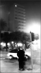 Bacio nella nebbia - Kiss into the fog 2016 (taniscanni) Tags: nebbia lungomare bari bacio