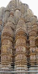India - Madhya Pradesh - Khajuraho - Khajuraho Group Of Monuments - Kandariya Mahadeva Temple - 225 (asienman) Tags: india khajuraho madhyapradesh khajurahogroupofmonuments asienmanphotography