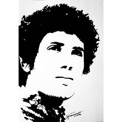 Lucio Battisti (19Abigail91) Tags: blackandwhite art illustration pen pencil paper sketch graphics artist gallery graphic drawing creative picture artsy draw masterpiece lucio battisti luciobattisti