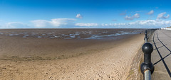 366-118 - wide open spaces (Ruth_W) Tags: sea sky beach liverpool sand 365 mersey wirral merseyside hoylake fms