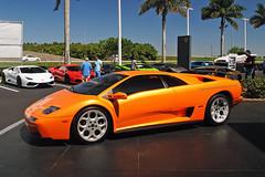 Diablo (Infinity & Beyond Photography) Tags: orange sports car florida exotic diablo lamborghini arancio supercar