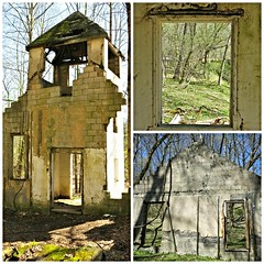 Patapsco Valley SP ~ Church ruins collage - HWW! (karma (Karen)) Tags: windows abandoned ruins collages churches maryland daniels hww baltimoreco patapscovalleysp