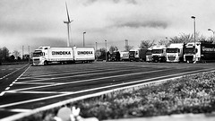 30/04/2016 day 251 : Arcachon/Paris - on a motorway service area (shaye.photo@yahoo.fr) Tags: white black paris weather truck motorway camion rainy autoroute figurine miss aire arcachon meteo iphone olienne servicearea gironde project365 365days windturbin 500px 365photos iphonephoto missmeteo ifttt iphone6s