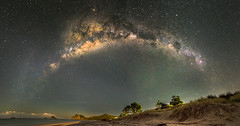 Coromandel Stars (Kiwi Tom) Tags: travel newzealand beach stars adventure coromandel milkyway tomhall