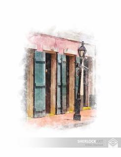 Street Lamp - Bourbon Street, 2004