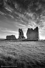 The ruins of Clogharevaun Castle (Kiltullagh Castle) (adrianmoorephotography) Tags: ireland sky tower castle history galway clouds landscape photography ruin eire connaught loughrea kiltullagh clogharevaun