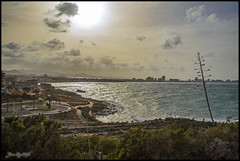 Calima Africana sobre el Mar Mediterraneo (JuandeCT) Tags: de cabo cartagena palos calima marmediterraneo