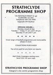Clydebank vs Celtic - 1986 - Page 8 (The Sky Strikers) Tags: official fine scottish match celtic premier fare league programme the clydebank 50p bankies kilbowie