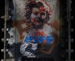 Is it a Banksy? (LEALSWEE) Tags: graffiti banksy regentscanal lisbet queenelizabeth