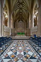 Altar (Dmitry Shakin) Tags: uk england church bristol arch cathedral altar vault vaulting reredos