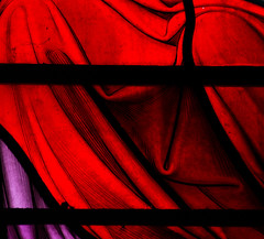 Stained Glass Abstract 1/3 (Mukumbura) Tags: red england abstract black church window abbey purple somerset stainedglass downsideabbey strattononthefosse