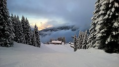 Break in the clouds (eye see sound) Tags: snow france alps landscape avoriaz frenchalps