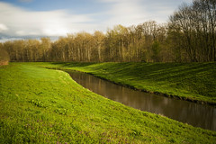 Landscape (Moustafa Kzaiha) Tags: longexposure trees sky green nature grass clouds river germany landscape day outdoor sony landschaft medow ilce7