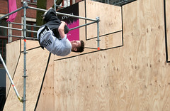 2016_April_freerun1-1448 (jonhaywooduk) Tags: urban sports netherlands amsterdam jump kick air spin platform teenagers free twist running runners athletes flick mid parkour