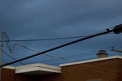 rooftop skyline (Lou Musacchio) Tags: abstract rooftop weather clotheslines darksky urbanphoto hydrolines