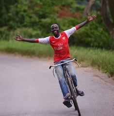 Downhill - Uganda (DWOOD DESIGNS) Tags: africa portrait bicycle uganda