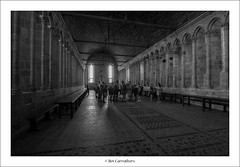 inside mont st michel.... (bevscwelsh) Tags: france abbey indoor montstmichel sonya700
