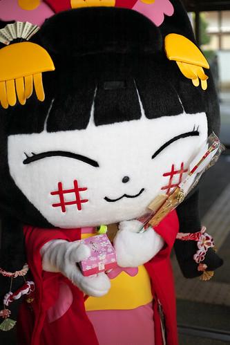 Yachi-Nyan(Featuring Yachiyo-Hime princess of Takamatsu Castle in Takamatsu City, Kagewa Pref.)(Hikone City, Shiga Pref.)