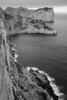 Formentor cliffs (Mallorca) (el vuelo del escorpión) Tags: winter sea bw byn monochrome mono mar mediterranean fuji invierno 1855 mallorca mediterráneo xe2