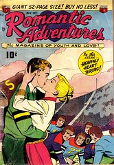 Romantic Adventures 17 (Michael Vance1) Tags: woman man art love comics artist marriage romance lovers dating comicbooks relationships cartoonist anthology silverage