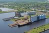 Elevator M (dan mackey) Tags: dock superior tugboat barge grainelevator flourmill pulpwood superiorwisconsin