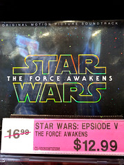 this is not the Episode V soundtrack you were looking for (Ian Muttoo) Tags: ontario canada reflection reflections starwars cd gimp mississauga soundtrack hmv episodevii erinmillstowncentre theforceawakens 20160206125356edit