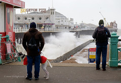 Storm Imogen hits Brighton seafront (Scotty H..) Tags: uk sea england storm english weather outdoors pier brighton waves wind windy stormy gales british seafront winds eastsussex seas breaking brightonpier palacepier wintry breakingwaves stormforce gusting
