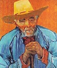 Portrait of Patience Escalier 1888, Vincent van Gogh (JANKUIT) Tags: selfportrait schilder museum vincent edvard gogh munch zelfportret vangogh escalier vangoghmuseum patience verbinding gelijkheid