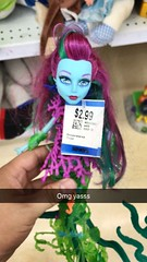 Best Savers find ever! (Christo3furr) Tags: fashion monster movie store high doll great daughter goddess thrift reef savers poseidon mattel thrifting posable posea scarrier