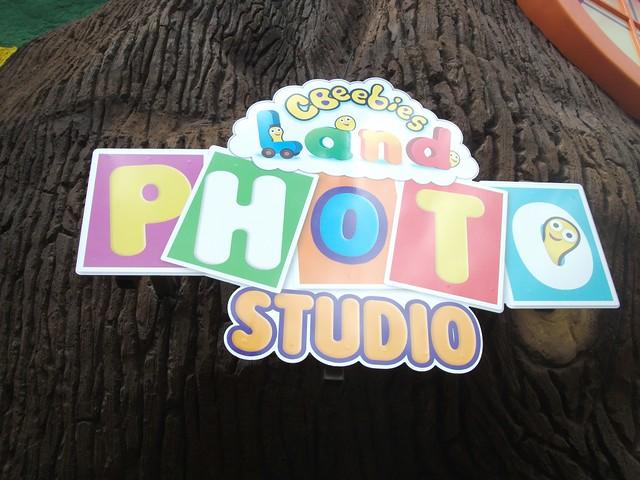 CBeebies Land Photo Studio - Entrance Sign