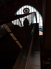 Mechanical stairs (enmrd) Tags: street leica espaa valencia lines contrast reflections spain curves diagonals mechanicalstairs valenciaspain mercadodecoln leica25mmf14 leica25mm micro43 leicadgsummilux25mmf14 panasonicgx8 lumixgx8