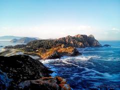 Cíes Islands (gjaviergutierrezb) Tags: sea sunrise islands cies islascíes