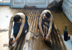 Caillebotte, The Floor Scrapers (detail), 1875