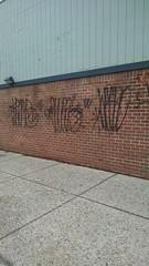 kramp w shoba w wacko (daswsup) Tags: street black philadelphia wall graffiti paint flat tags philly wacko wicket shoba kramp