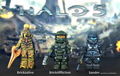 LEGO Halo 5: Guardians - Collaborative Minifigures (MGF Customs/Reviews) Tags: blue team truth lego 5 chief halo vale master linda microsoft figure fred kelly custom buck locke osiris hunt industries tanaka spartan 343 guardians covenant minifigure cortana forerunner arbiter fireteam promethean