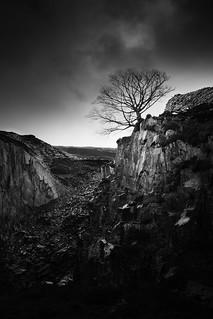 Dinorwic Quarry Slate Mine (Wales) 09/01/16