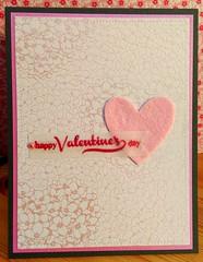 Floral Valentine's (Djspaper) Tags: sei vellum valentinescard papertreyink averyelle