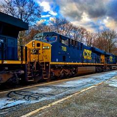 CSX (Littlerailroader) Tags: railroad train massachusetts newengland trains andover m locomotive locomotives railroads csx newenglandrailroads andovermassachusetts massachusettsrailroads