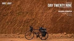 Day Twenty Nine (catchsid) Tags: sea beach bicycle sony gokarna karnataka konkan biketouring mirrorless a7s