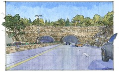 WVB Tunnel facade sketch 3MB (Ohio River Bridges: East End Crossing) Tags: bridge ohio project river crossing bridges indiana tunnel east end louisville louisvillesouthern