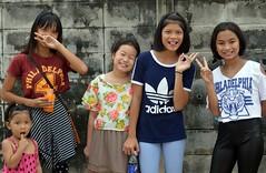 pretty girls sending you peace (the foreign photographer - ) Tags: girls portraits thailand nikon pretty bangkok bang bua preteen khlong bangkhen d3200 jan232016nikon