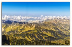 Himalayan aerial view! (KS Photography!) Tags: travel vacation sky panorama india mountain mountains color nature beautiful weather clouds plane airplane landscape daylight fly high scenery skies view outdoor aircraft altitude air horizon north wing peak aerial mount journey kashmir range himalayas height cloudscape himalayan ladakh jammu