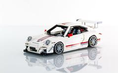 LEGO Porsche 911 GT3 RS 4.0 (Malte Dorowski) Tags: speed lego 911 engine racing porsche 40 racers rc 116 carrera 117 porsche911 118 gt3 997 modelteam foitsop
