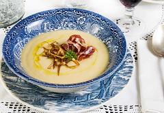 Crema de puerros con iberico (Frabisa) Tags: recipe cream homemade crema jamon leeks puerros casero ibrico jamoniberico