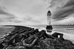 Perch Rock lighthouse 1 (another_scotsman) Tags: lighthouse seascape river landscape mersey perchrock