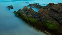 Deba Burumendi (Hirugarren hondartza). #euskadi #baskecoast #baskecountry #landscape #sea #seascape #nighphotography #longexposure #flysch #Euskalkostaldea (Carlos Manzanera) Tags: longexposure sea seascape landscape euskadi flysch nighphotography baskecountry euskalkostaldea baskecoast